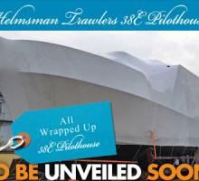 First New Helmsman Trawlers® 38E Pilothouse