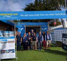 The first weekend of Southampton Boat Show 2016