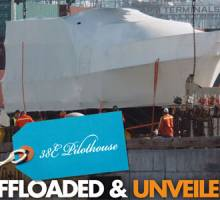 First New Helmsman Trawlers® 38E Unveiled & Offloaded
