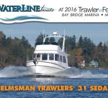 Waterline Boats at Bay Bridge TrawlerFest!