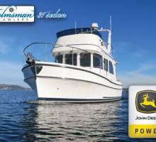 Helmsman Trawlers Building First 31 Sedan with John Deere Engine