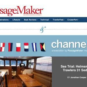 PassageMaker on the Helmsman Trawlers 31 Sedan!