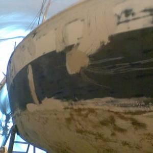 Beauty treatments for GRP boats