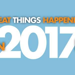 Great Things Happening In 2017!