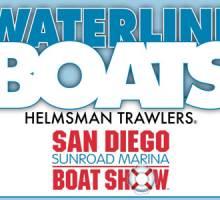Helmsman Trawlers in San Diego Sunroad Marina Boat Show!