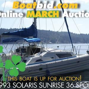 Solaris Sunrise 36 Sport In Boat Auction!