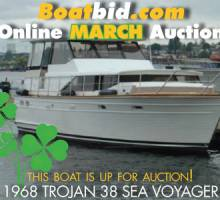 Trojan 38 Motoryacht In Boat Auction!
