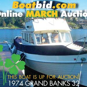Grand Banks 32 In Boat Auction!