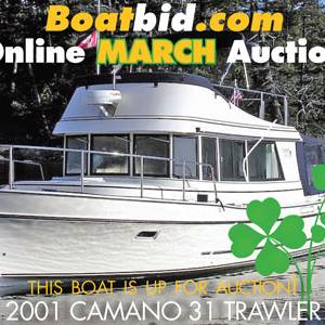Camano 31 Trawler Troll In Boat Auction!