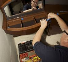 Boatshed Plymouth interviews local marine furniture repairer