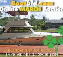 Viking 35 Sportfish In Boat Auction!