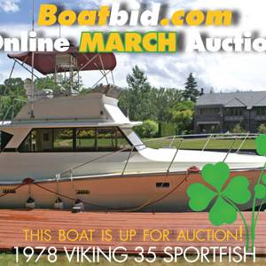 Viking 35 Sportfish In Boat Auction!