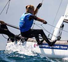 A foiling first for Nacra crews
