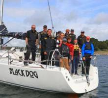 Young sailors crew Black Dog to racing victory