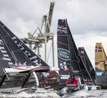 Oman Air moves top of overall 2017 Extreme Sailing Series™