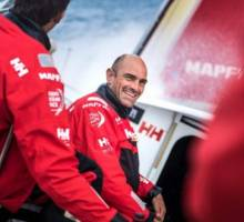 MAPFRE win qualifying sprint from Plymouth to Saint-Malo