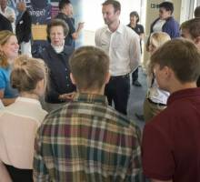 Royal visit and racing for UKSA during Lendy Cowes Week