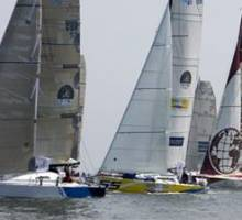Owen Clarke's new Class 40 wins Normandy Race Prologue