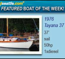 Boatshed Seattle - Featured Boat of the Week