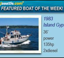 Boatshed Seattle ­ Featured Boat of the Week! Island Gypsy 36' Quad Cabin