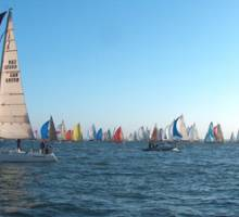 Boatshed Hamble does Round the Island Race