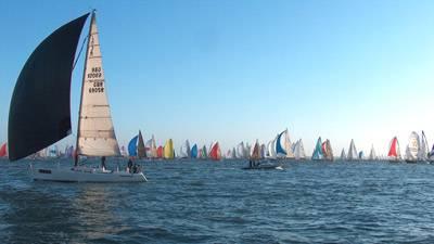 Boatshed Hamble does Round the Island Race