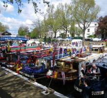 Boatshed Grand Union and Inland Waterways festivals