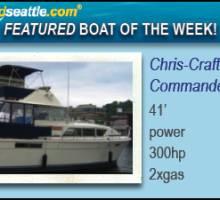 Boatshed Seattle International Yacht Brokers Featured Boat of the Week!