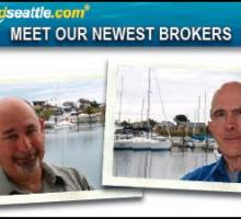 Waterline Boats/Boatshed Seattle welcomes Dirk Nansen and Gary Lazarus