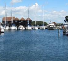 Birdham Pool Marina review Boatshed style