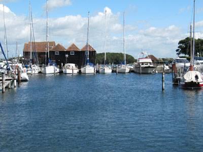 Birdham Pool Marina review Boatshed style