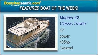 Waterline Boats / Boatshed Seattle Featured Boat of the Week!