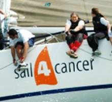 George Davies gives superyacht to leading sailing charity