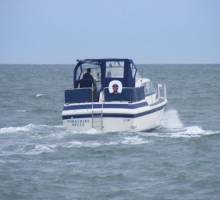 Boatshed Yorkshire sea trial in Force 4/5