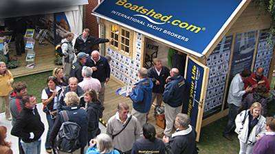 Boatshed confessions from PSP International Southampton boat show