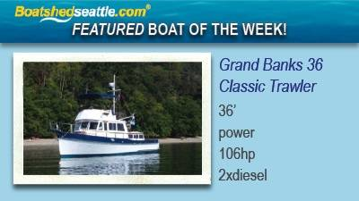 Grand Banks 36 Classic – Featured Boat Of The Week!