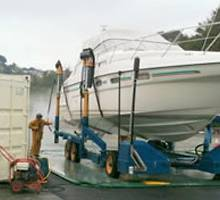 New Travel Hoist at Salcombe