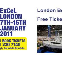 Free London Boat Show Tickets