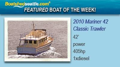 Featured Boat of the Week - Mariner 42 Classic Trawler!