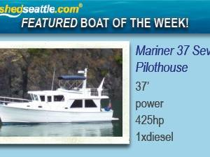 Featured Boat of the Week - Mariner 37 Seville Pilothouse Trawler!