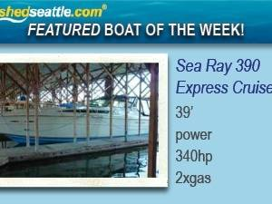 Featured Boat of the Week - Sea Ray 390 Express Cruiser!
