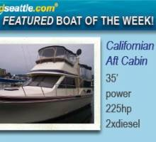 Featured Boat of the Week - Californian 35 Aft Cabin!