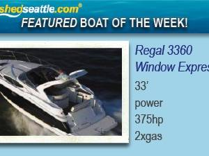 Featured Boat of the Week - Regal 3360 Window Express!