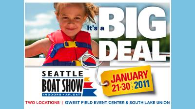 Visit Waterline Boats & Boatshed Seattle at the Seattle Boat Show!
