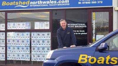 Interview - The Boatshed North Wales team on location at their office in Pwllheli Marina