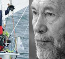 Sir Robin Knox-Johnston is the first man to sail solo, non-stop around the world