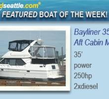 Featured Boat of the Week - Bayliner 3587!