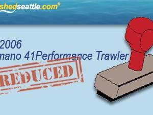 Price Reduced On A Sweet Boat - Camano 41 Performance Trawler