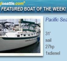 Featured Boat of the Week - Pacific Seacraft Sloop!
