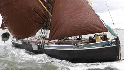 Thames Sailing Barge - our 'boat of the month'
